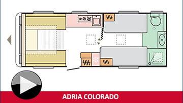 Adria Colorado layout plan