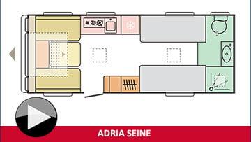 Adria Seine layout plan